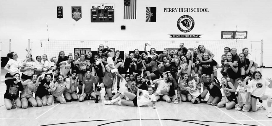 perry girls volleyball